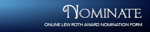 Lew Roth Award nomination Form