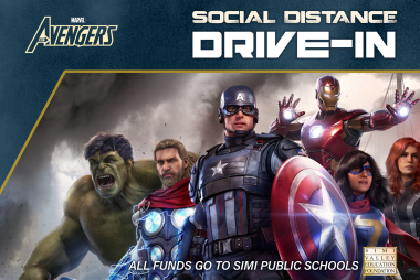 SOCIAL DISTANCE DRIVE-IN Saturday, April 17th